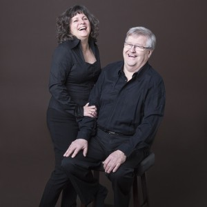 Organist Jacques Boucher and violinist Anne Robert