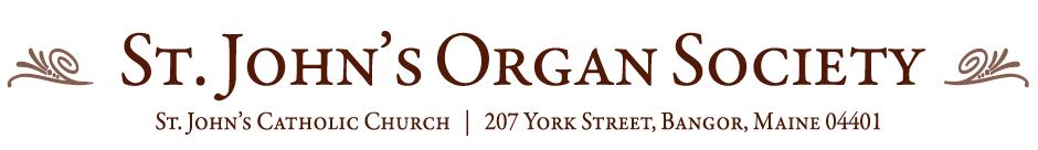 St. John's Organ Society